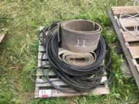 Pallet of Various Belting & V Belts