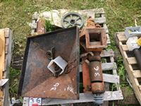 Older Grain Crusher and Parts