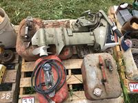 Johnson 15 hp Boat Motor, Fuel Tanks, Fishnet