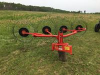 2017 Faza RP-4 3 Point hitch, 4 Wheel Hay Rake